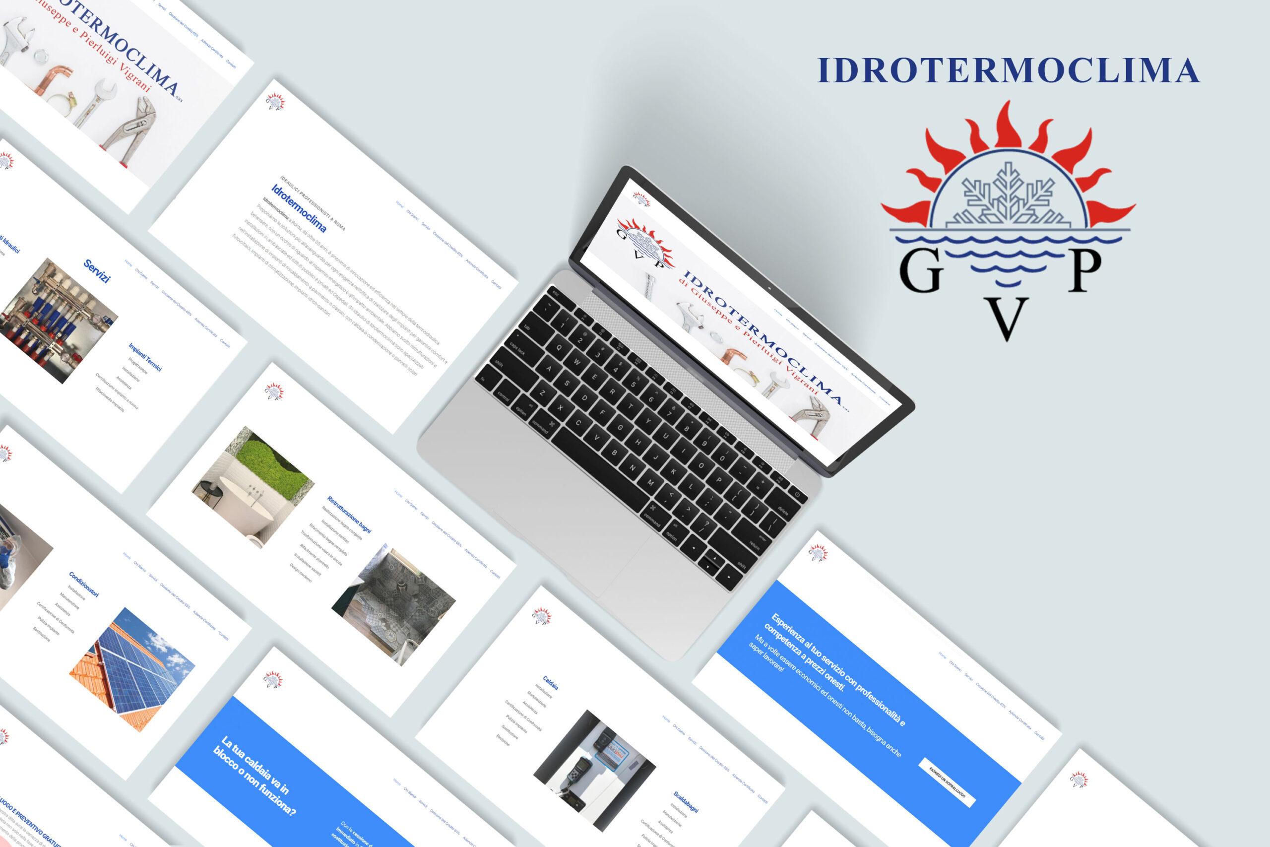Idrotermoclima sas – Realizzazione WebSite